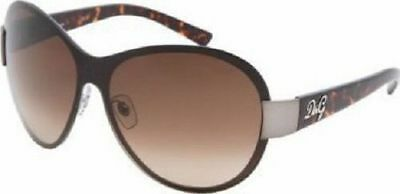 09f9ef94e3c Dolce   Gabbana Sunglasses Brown Musk style brown silver new with case Italy