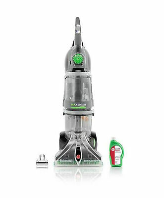 Hoover Max Extract Dual V WidePath Carpet Washer Shampooer, New Steamvac Cleaner