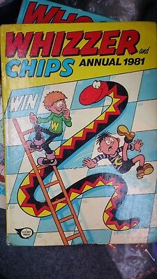 Whizzer & Chips Book Annual 1981 Collectors Comic Book