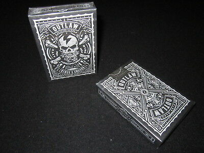 Outlaw Playing Cards by Lee McKenzie- Limited, Rare