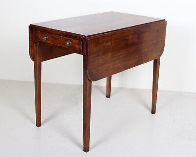 Antique George III Pembroke Table Mahogany Early 19th Century Georgian