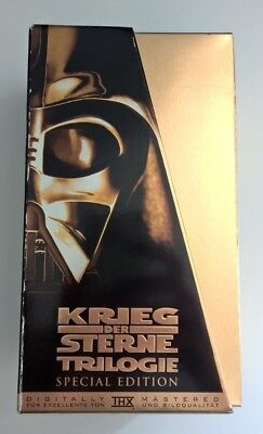 Star Wars Trilogy Special Edition, 1997 VHS Gold Box Set