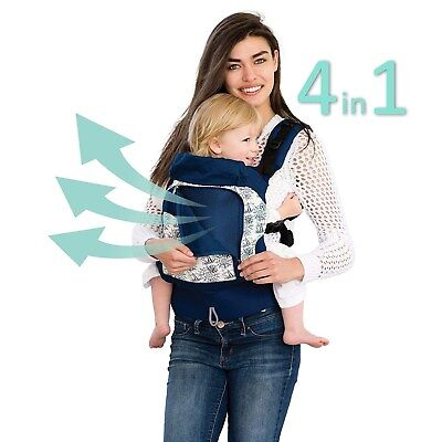 LILLEbaby 4 in 1 ESSENTIALS  Baby Carrier Seven Seas Navy