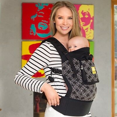 4 in 1 ESSENTIALS Baby Carrier by LILLEbaby - Black Knots