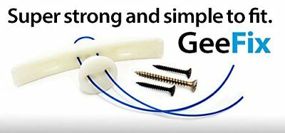 GeeFix Heavy Duty Drywall Anchor System (Pack of 4)