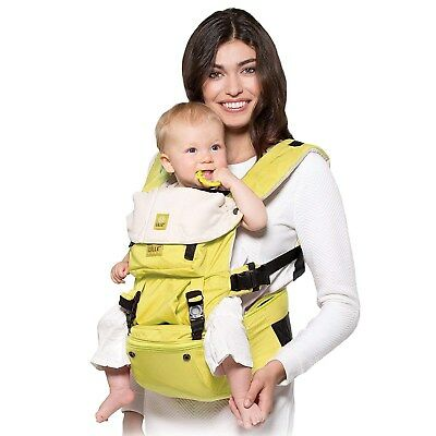 Lillebaby Hip Seat Baby Carrier SeatMe - Microfiber Citrus