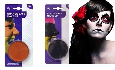 Halloween Make Up Base Face Paint Black Red Halloween Party Fancy Dress