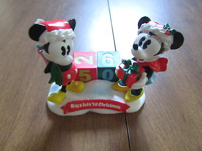 Disney Mickey Minnie Days Left Til Christmas Countdown Calendar Cdom17 Zz1707