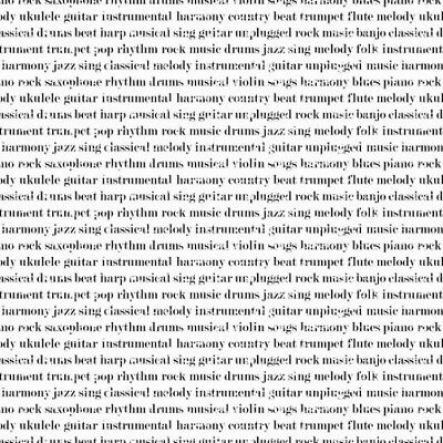 Nutex Patchwork Fabric - Music In Words - 89720
