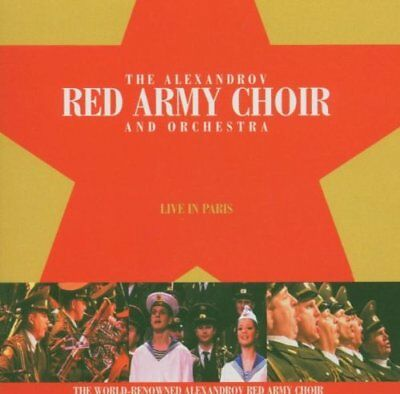 The Alexandrov Red Army Choir - Live in Paris CD NUOVO ORIGINALE SIGILLATO