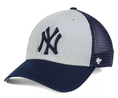 best sneakers f13dd 973a4 ... free shipping new york yankees 47 brand mlb ravine closer cap hat  stretch fit osfm nwt