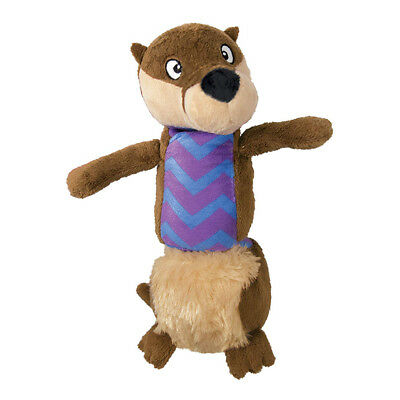 Kong Stretchezz Tugga Otter Dog Toy Large | With bungee spring Squeaky Tug Plush
