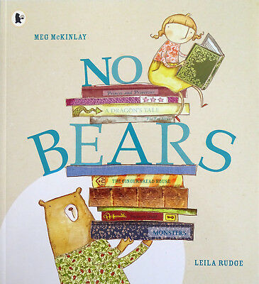 No Bears by Meg McKinlay (Paperback) [NEW]