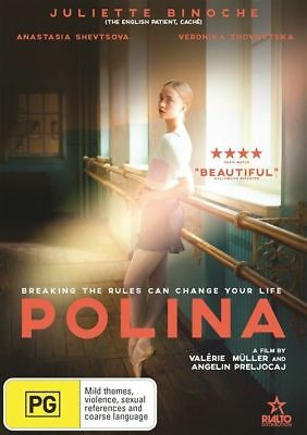 Polina Dvd, New & Sealed, 2018 Release, Region 4, Free Post