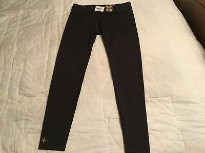 NWT $39.50 Tommie Copper Girls Black Core Leggings , Size Large