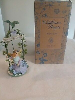 Demdaco Wildflower Angels - Thoughts Of You Violets for Loyalty - New with box