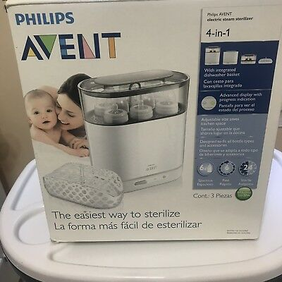 Philips  Avent Electric Steam Sterilizer( With Original Box).