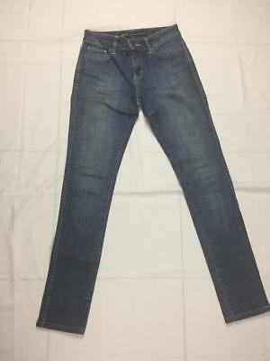 Riders by Lee Mid Rise Super Skinny Faded Blue Jeans / Size 8