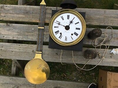 Beautiful French Vintage  Long-Case Clock Workings