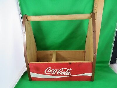 Coca Cola Wooden Napkin Holder