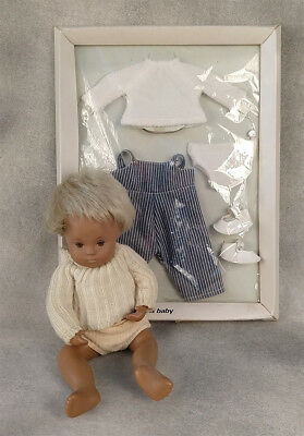 Sasha Baby Doll Anatomic Boy vintage w/ Factory sealed outfit Ginger blond