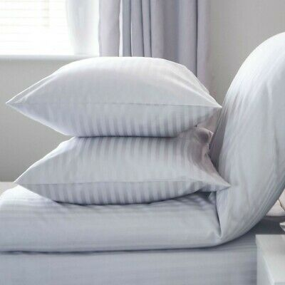 Large Jumbo Bounce Back Hotel QUALITY PILLOW Pair  Big fluffy Padded Firm 2 PACK