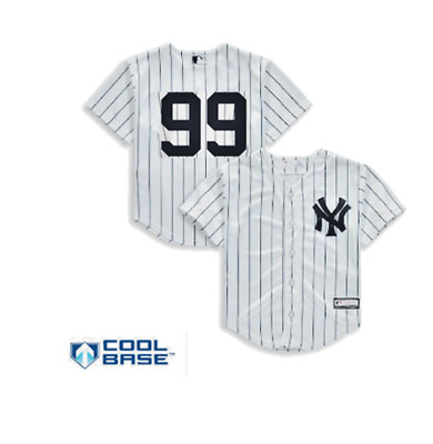 NEW Aaron Judge New York Yankees Majestic Youth Size No Name MLB Jersey