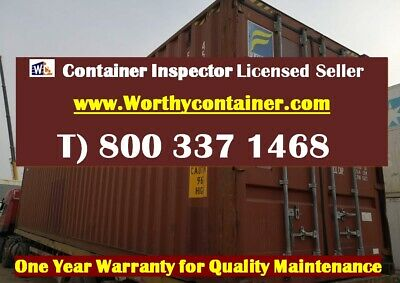 40' High Cube Shipping Container / 40ft HC Cargo Worthy in Miami, FL