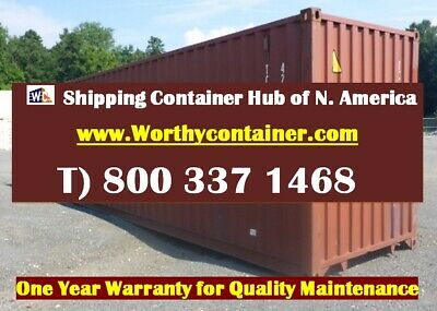 40' Cargo Worthy Shipping Container / 40ft Storage Container - Indianapolis, IN