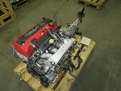00-03 Honda S2000 AP1 F20C Engine 2.0L DOHC VTEC Motor 6 Speed M/T. 62K Mile