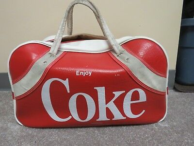 "Vintage Coke Duffle Bag ""enjoy Coke"""