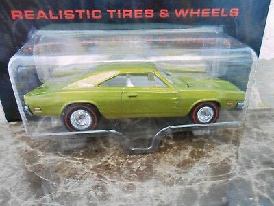 2005 Hot Wheels Ultra Hots' 69 Dodge Charger Green In Very Good Shape