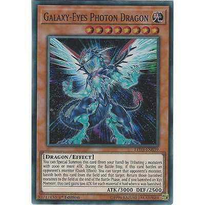 Yu-Gi-Oh! Galaxy-Eyes Photon Dragon - LED3-EN039 - Super Rare Card - 1st Edition