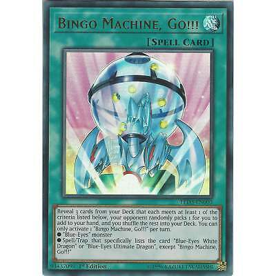 Yu-Gi-Oh! TCG: Bingo Machine, Go!!! - LED3-EN003 - Ultra Rare Card - 1st Edition
