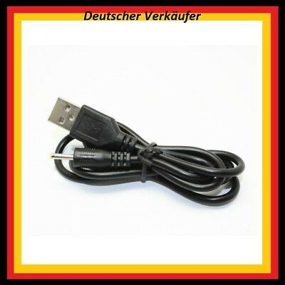 USB Adapter Kabel Ladekabel 5V USB Strom Power auf 2,5mm x 0,7mm DC Hohlstecker