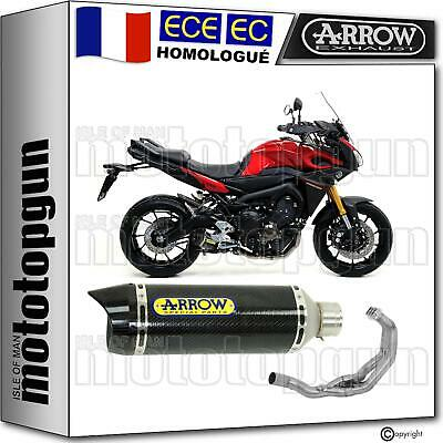 Arrow Ligne Complete Cat Thunder Carby Carbon Yamaha Mt 09 Tracer 2015 15