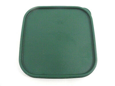 "Tupperware Green Modular Mate Replacement Lid 1623 Only 7 3/8"" Square"