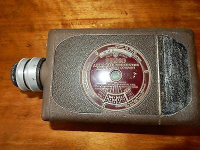 Vintage Bell & Howell Filmo Auto Load Speedster Camera 16mm AS IS