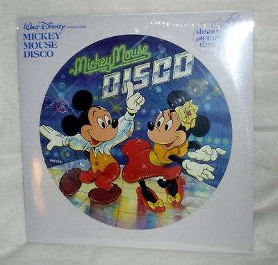 Mickey Mouse Disco  [Picture Disc; NEW Unplayed Copy]