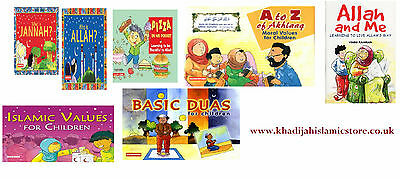 Children Islamic Books-Muslim Islamic Kids Gift Stories