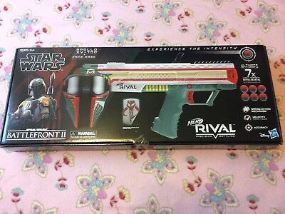 Brand New NERF Rival Apollo Xv-700 Star Wars Boba Fett Collectible Blaster