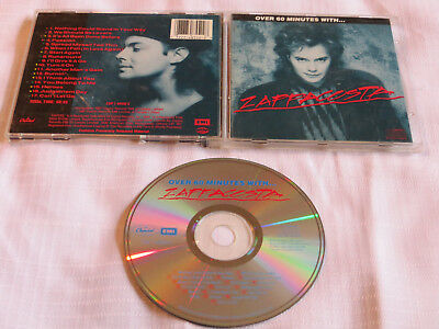 ZAPPACOSTA Over 60 Minutes With CD Greatest Hits RARE PRAXIS 1987 17 tracks BEST