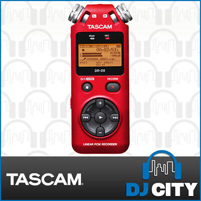 DR-05R (Ver2) Tascam Linear PCM Handheld Recorder Limited Red Edition