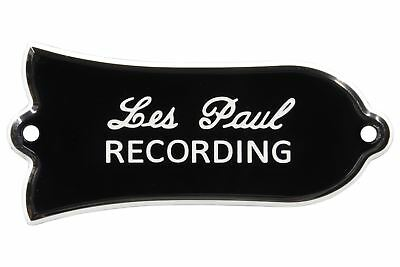 "Engraved ""Les Paul RECORDING"" Truss Rod Cover for Gibson Guitars"