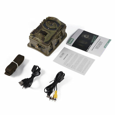 Game Trail Hunting Camera 16MP 1080P HD Infrared Night Vision Scouting Camera BP