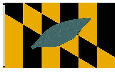 USA State of Maryland Calvert county flag 3x5ft banner