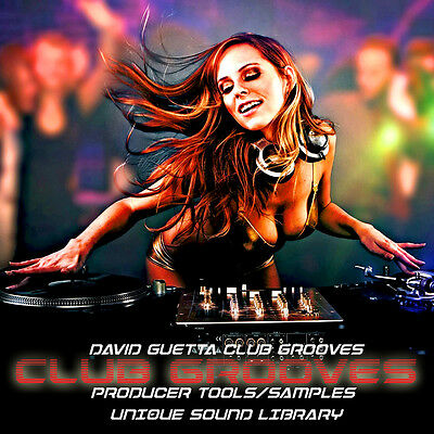 David Guetta Club Grooves - Huge Einzigartig Produktions Sound Bibliothek 1.45GB
