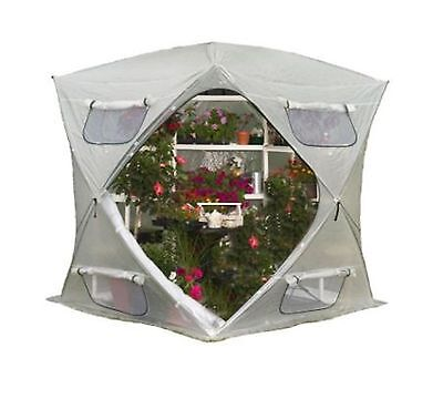 BloomHouse 7ftx7ft Pop-Up Greenhouse Home Outdoor Plant Flower Shelter Garden