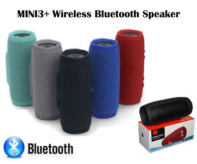 Charge Mini 3 Portable Bluetooth Wireless Speaker for iPhone Samsung mobile
