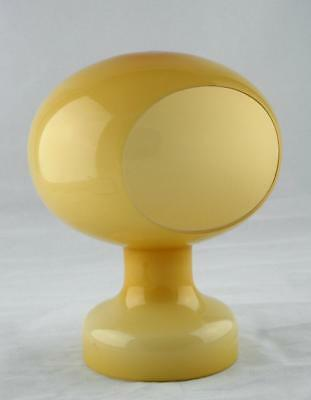 RETRO Vintage Glass Lamp Light Shade -Very Cool Space-Age & Rare Design -c1970's
